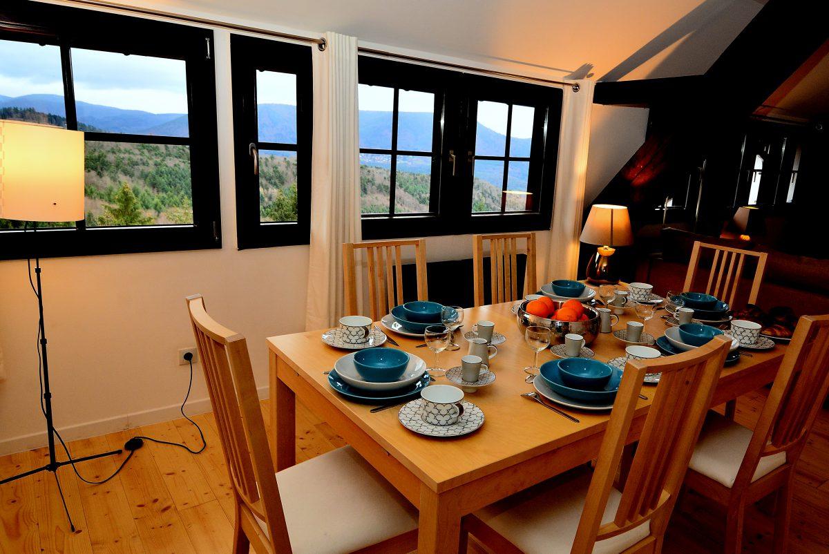 Appartement de vacances La Vancelle Alsace Logis du Haut-Koenigsbourg